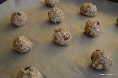 Vločkové sušenky | brydova.cz Stuffed Mushrooms, Cookies, Chocolate, Vegetables, Food, Stuff Mushrooms, Crack Crackers, Biscuits, Essen