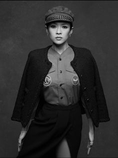 4040a81647e6 Zhang Ziyi -  The Little Black Jacket  CHANEL s classic revisited by Karl  Lagerfeld and Carine Roitfeld