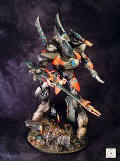samson minis: Finished! Eldar Wraithknight