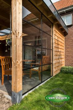 Outdoor Rooms, Outdoor Living, Outside Living, Backyard Patio, Backyard Landscaping, House Without Walls, Kitchen Orangery, Timber Roof, Garden Buildings