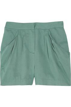 J.Crew Deena twill shorts
