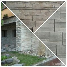 Betonový obklad - skládaný kámen