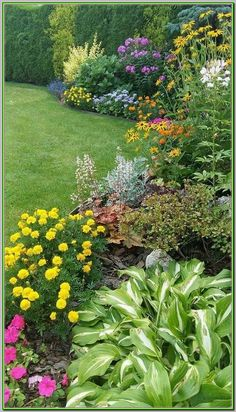 Backyard Garden - Design the garden with different shade garden ideas is just one of the choice to make a shady backyard. Using lots of shrub and plants can help create this landscape. Therefore, it is going to produce the garden warm and comfort. Garden Design, Plants, Beautiful Backyards, Backyard Garden, Backyard Landscape Architecture, Cottage Garden Design, Flower Garden Design, Outdoor Gardens, Landscape