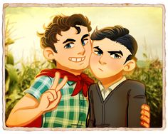 Clark x Bruce; this is so priceless.