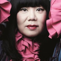 Anna #annasui #fashion #designer #icon #photography #portrait