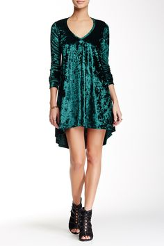 American Twist | Crushed Velvet Dress | Nordstrom Rack