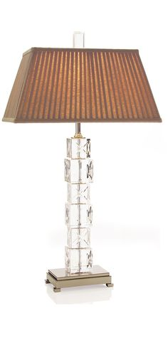 """Crystal Table Lamps, Luxury Designer 32"""" Classic Etched Crystal Table Lamp, So Elegant, Perfect For Prestigious Hotel & Residential Installations, one of over 3,000 limited production interior design inspirations inc, furniture, lighting, mirrors, home accents, accessories, decor and gift ideas to enjoy repin and share at InStyle Decor Beverly Hills Hollywood Luxury Home Decor enjoy & happy pinning"""