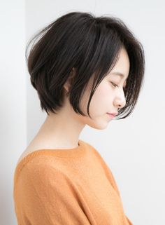 Pin on ショートカット Short Curly Haircuts, Curly Hair Cuts, Short Hairstyles For Women, Short Hair Cuts, Short Hair Styles, Kawaii Hairstyles, Cool Hairstyles, Asian Hair, Brunette Hair