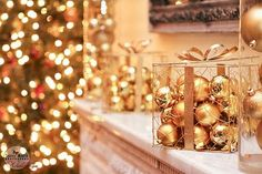 Awesome easy winter wedding DIY decor - so pretty (this wedding was at the Wadsworth Mansion)