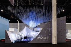 Once again, one year after realizing the first Yota Pavillion in 2013, External Reference Architects have been able to successfully produce an immersive experience to the visitors.This year's industry-defining event, Mobile World Congress, was once agai…