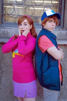 Cosplay Anime Costume For all your Disney Cosplay needs! Do you cosplay as a Disney Character? Couples Cosplay, Disney Cosplay, Cosplay Anime, Cosplay Gravity Falls, Disfraz Gravity Falls, Gravity Falls Costumes, Cosplay Lindo, Cute Cosplay, Amazing Cosplay