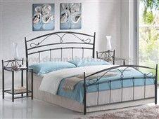 Kovová posteľ pre manželov
