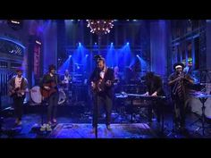 "Bon Iver ""Holocene"" SNL 2012 One beautiful song about feeling down and out and realizing you're looking down at the more magnificent, more majestic world."