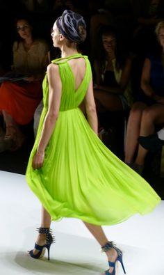Model at DIMITRI Spring/Summer 2013 - Mercedes Benz Fashion Week