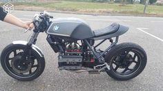 BMW Spécial K - Page 10 Cafe Bike, Cafe Racer Bikes, Cafe Racers, Bobber Bikes, Bmw Motorcycles, K100 Scrambler, K100 Bmw, Predator Helmet, Bmw Motors