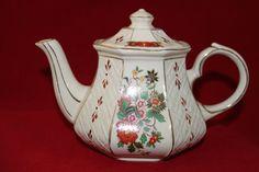 Vintage Sadler Teapot  English Teapot China by TeaAttheBrits,