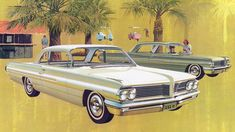 1962 Pontiac Catalina Sports Sedan and Catalina 4-Door Sedan: Art Fitzpatrick and Van Kaufman