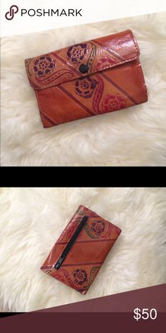 Selling this 💕Genuine Embossed Leather Indian Wallet💕 on Poshmark! My username is: ep2chr. #shopmycloset #poshmark #fashion #shopping #style #forsale #Handbags