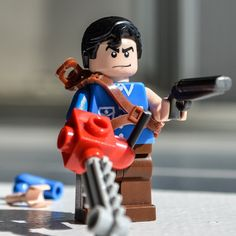 Asche Williams (The Evil Dead, Army of Darkness) - Custom LEGO Minifigur