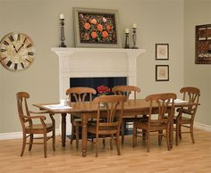 Amish Tuscany Dining Room Table | Dining room table, Tuscany and Room