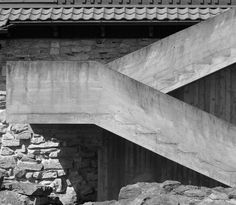 Hedmark Museum, Hamar Norway (1967-69) | Sverre Fehn | Photo : Peter Guthrie