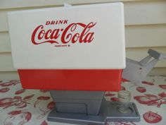 70's Toy Coke Soda Fountain--we actually had one of these!