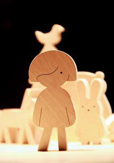 cute wood silhouette