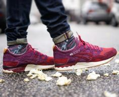 asics dried rose