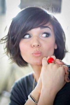25 Cute Hair Styles for Short Hair | http://www.short-hairstyles.co/25-cute-hair-styles-for-short-hair.html