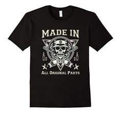 Mens 85th Birthday Made In 1932 All Original Parts Gift T-Shirts Large Black