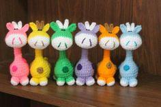 Amigurumis, Muñecos Tejidos Al Crochet - $ 45,00