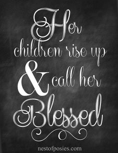Proverbs 31  Mother'