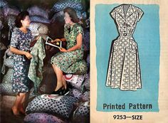feed sack dresses and patterns