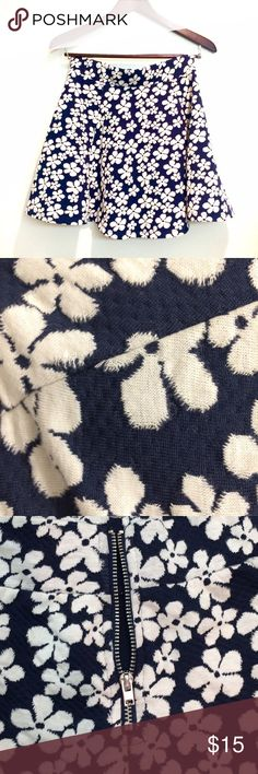 Selling this H&M Floral Skater Skirt on Poshmark! My username is: poojajp. #shopmycloset #poshmark #fashion #shopping #style #forsale #H&M #Dresses & Skirts