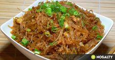 Pasta Recipes, Diet Recipes, Healthy Recipes, Healthy Foods, Oriental Food, Hungarian Recipes, Kfc, Creative Food, Japchae