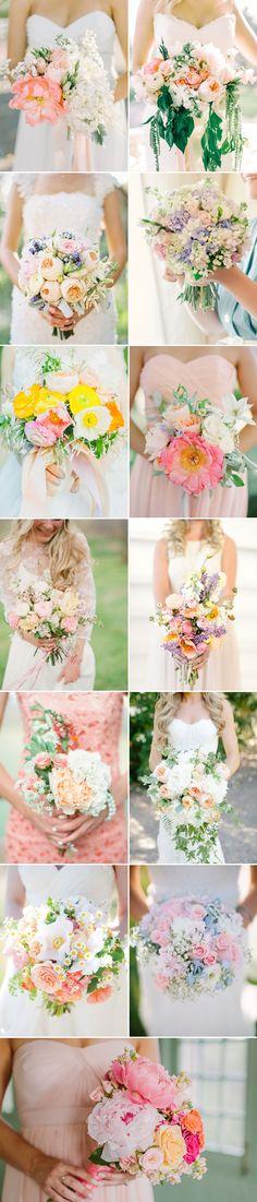 Beautiful wedding bouquet inspiration!
