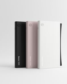 A portable powerbank with a lightning cable,it is very convenient .