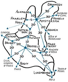benelux rail connections