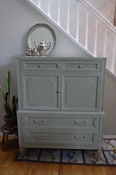 chateau gray furniture | After. Chateau Grey/Old White 50/50. Dry brushed with ... | Furniture