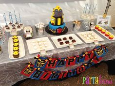 Transformers Birthday Party Ideas | Photo 2 of 19 | Catch My Party