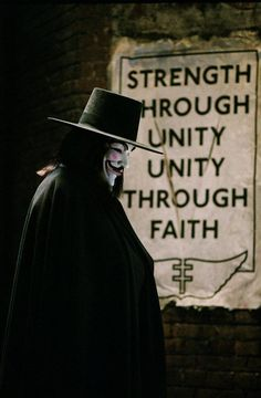 The domino sequence from V for Vendetta being filmed.