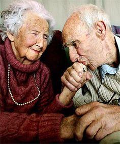 The elderly. So precious.
