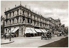 General-Exterior View Of Shepheard's Hotel In Cairo - Early 1920's by Tulipe Noire, via Flickr