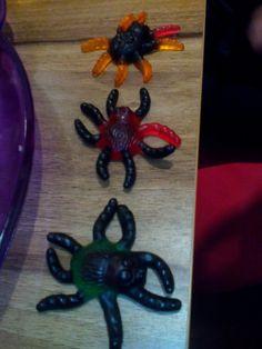 pavouci želé