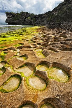 """Tide pools"", Balangan Beach, Bali"