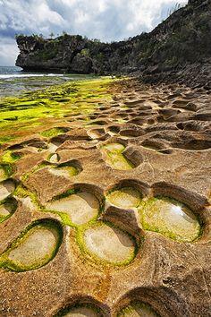 """Tide pools"", Balangan Beach, Bali"