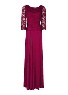 MANGO - Drapiertes Abendkleid