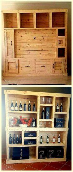 fantastic pallet wooden wine racks