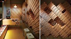 Interiorul unui magazin de pantofi asamblat in doar 12 ore - Amenajari interioare | Design interior