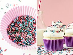 Vanilla bean cupcakes- made with cake flour; makes 20 cupcakes